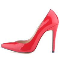 Pointed Classic Candy Colors High Heels Shoes