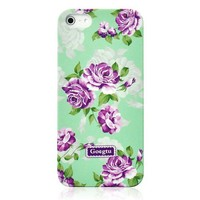 Retro Villatic Style Garden Frosted Case For iPhone 5