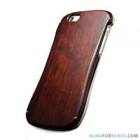 Rosewood and Metal Case - iPhone 6