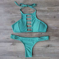 Sexy Bikini Set Swimsuit Bathing Suit Bandage Bikini