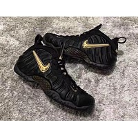 Air Foamposite Pro Black/Gold