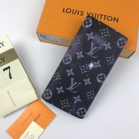 LV Louis Vuitton MONOGRAM CANVAS Pochette Voyage WALLET