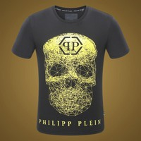 2018 Men Cheap Philipp Plein T Shirt hot sale ♂057