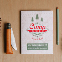 Camp Stationery Survival Kit