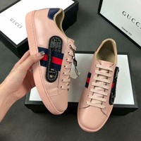 Boys & Men women Gucci Casual Shoes Boots  fashionable casual leather