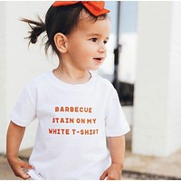 WHITE TODDLER TSHIRT