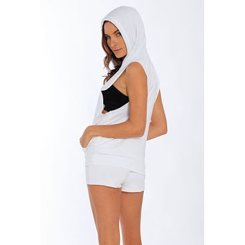 Miami Style® - French Terry Sleeveless Hoodie