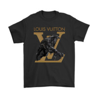 Deluxe Superhero Black Panther Louis Vuitton Shirts