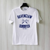 Ravenclaw Quidditch Harry Potter Shirt T Shirt Tee Top TShirt – Size XS S M L XL