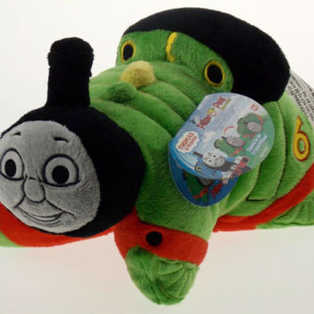 """Pillow Pets 11"""" Pee Wees Percy Thomas & Friends Plush Stuffed Animal Seen On TV"""