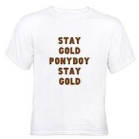 Men's Stay Gold T Shirts | Stay Gold Tees & Shirts for Men - CafePress