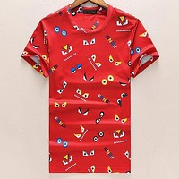Fendi Woman Men Fashion Casual Shirt Top Tee