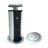Power Hub Station for Table Desk Top USB and A/C Recharging Port. FREE SHIPPING!