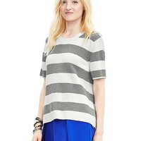 Banana Republic Womens Striped Open Back Pullover