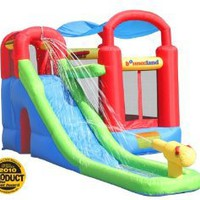 Amazon.com: Inflatable Bounce House and Water Slide Wet or Dry Playstation: Toys & Games