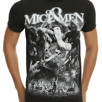 Of Mice & Men Live Collage T-Shirt