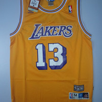 Rare Wilt Chamberlain 13 Los Angeles Lakers 1979-1980 New Hardwood Classic Nba Jersey Basketball Jersey All Stitched and Sewn Any Size S-XXL