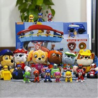 Hot sale Genuine Paw patrol toy puppy patrol dog car action figure toy brinquedos para as crian Ryder,Chase kids birthday gift