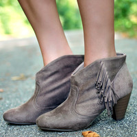 The Favored Fringe Bootie