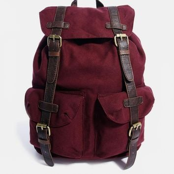 ASOS Backpack with Contrast Straps