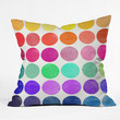 Garima Dhawan Colorplay 6 Throw Pillow