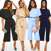 feitong jumpsuits for women 2019 summer office romper womens jumpsuit rompers womens jumpsuit plus size salopette femme #3.5