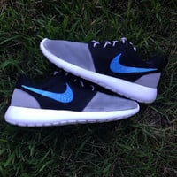 Custom Nike Roshe One Sky Shoes