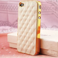 Super Sale-Leather Iphone 4 case, Iphone case, iphone 4s case, phone case, iphone cover,