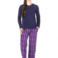 Noble Mount Womens Microfleece Lounge Set