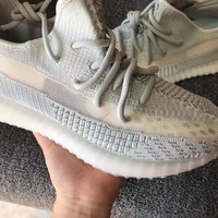 NEW Light blue Adidas Yeezy 350 Boost Sneakers Shoes for Women Men Gift