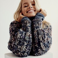 Free People Cloudy Skies Pullover