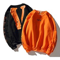Vlone crewneck hoodies sweatshirts jackets men women clothing hip hop streetwear harajuku brand winter coat oversized tracksuit skateboard
