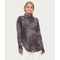 Marcy Tie Die Thermal Tunic Oxide