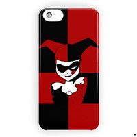 Harley Quinn Batman Joker Cute Face For iPhone 5 / 5S / 5C Case