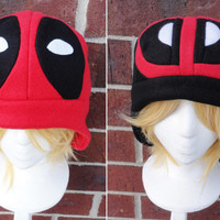 Deadpool Hats - A winter, nerdy, geekery gift!