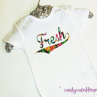 T-shirt or Onesuit baby kids toddler newborn fresh swag trendy shirt clothes hawaiian aloha unisex  clothing gifts classic sneaker tees bling