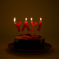 YAY! Cake Candles - Urban Outfitters