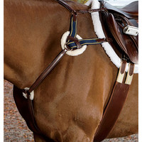 Ovation™ 4-Star 5-Point Eventing Breastplate | Dover Saddlery