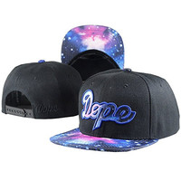 Tenbo-PP Unisex Adjustable Fashion Leisure Baseball Hat DOPE Snapback Dual Colour Cap