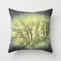 :: Vultures :: Throw Pillow by GaleStorm Artworks