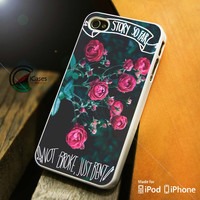 The Story So Far Flower iPhone 4 5 5c 6 Plus Case, Samsung Galaxy S3 S4 S5 Note 3 4 Case, iPod 4 5 Case, HtC One M7 M8 and Nexus Case