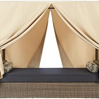 Naples Outdoor Canopy Bed - Outdoor Daybed - Outdoor Canopy Bed - Outdoor Daybed With Canopy   HomeDecorators.com