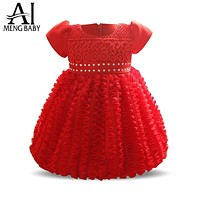 born Little Girl Dress for Baby Girl Outfits Infant Party Dresses