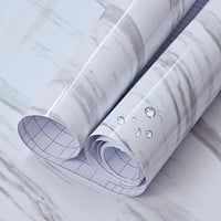 3M/5M/10M Marble Self adhesive Wallpaper Peel & Stick/ Removable