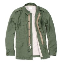 Washed Linen Field Jacket from Apolis