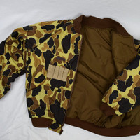 2 in 1 REVERSIBLE MEN'S Bomber Jacket / Camouflage / by Columbia