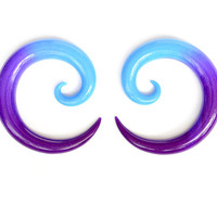 Ear Gauges or Ear Plugs for Stretched Ears, can be done as Fake Gauges or Fake Plugs