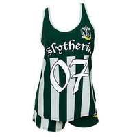 Harry Potter Slytherin Quidditch Seeker Varsity Sleep Set