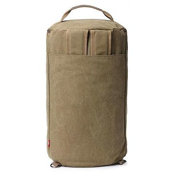 Men's Canvas Multi-functional Vintage Large Capacity Backpack