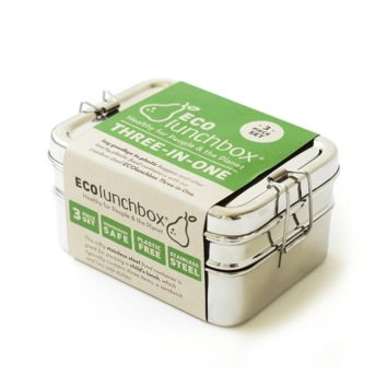ECOlunchbox Stainless Three-in-One Classic